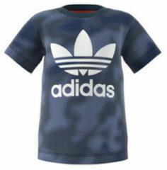Adidas Originals T-shirt kobaltblauw/rood