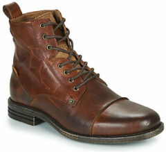 Bruine Boots en enkellaarsjes Emerson Lace Up by Levi's