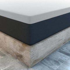 Suite sheets Topper Hoeslaken Jersey Grijs Waterbed/Boxspring - 200 x 220/230 cm