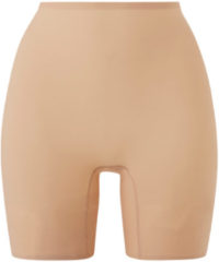 Beige Chantelle Soft Stretch One-size-fits-all naadloze tailleshorts