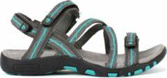 Turquoise Tenson Sport Sandaal Alva Grijs 37