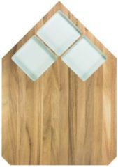 TAK Design Pau Snijplank - Acaciahout - 40,5 x 28,5 cm - Pastel Mint