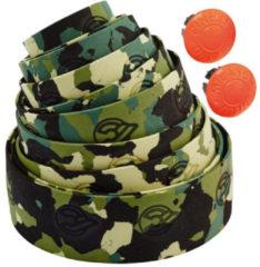 Groene Cinelli Camouflage Ribbon Stuurlint, green