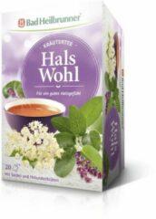 Bad Heilbrunner Kruidenthee - Hals Wohl - Voor Gezonde Keel