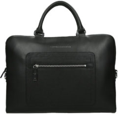 Zwarte Tommy Hilfiger Corporate laptoptas 15 inch black