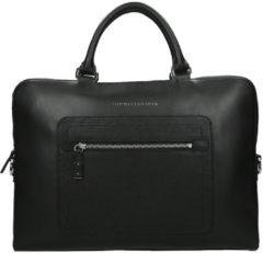 Zwarte Tommy Hilfiger Corporate laptoptas 15 inch black