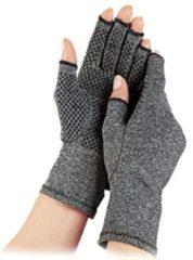 Pro-orthic Therapeutische Reuma Artritis Compressie Handschoenen met Anti-Slip voor Pijnverlichting, Ondersteuning & Verbetering van de Bloedsomloop | Grijs Large