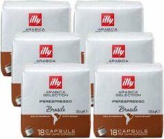 Illy - Iperespresso koffie Brazil 18 capsules