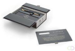 Gouden Parker Pen PARKER Balpen Duofold Cl. zwart M zwart