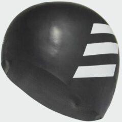 Zwarte Adidas SIL 3S CAP - Badmutsen