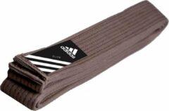 Adidas judoband Elite bruin maat 260 cm