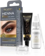 REVERS® Eyebrow Henna Pro Colours Graphite 15ml.+15ml.