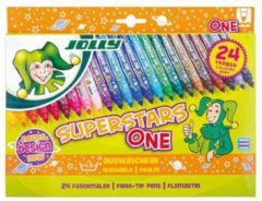Jolly Superstar One Markers 24 kleuren