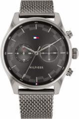 Zilveren Tommy Hilfiger Sawyer horloge TH1710421