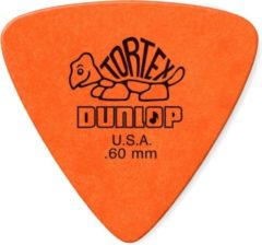 Oranje Jim Dunlop Dunlop Tortex® Triangle 0.60mm 6-pack