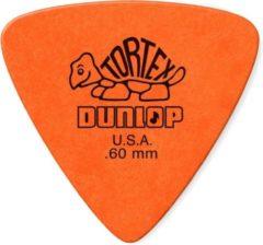 Oranje Jim Dunlop Dunlop Tortex® Triangle 0.60mm 6-pack