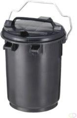 Sulo Kunststof afvalemmer 35 liter grijs met beugel