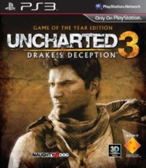 Naughty Dog Uncharted 3: Drake's Deception - Game of the Year Edition /PS3