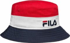 Fila Blocked Bucket Hat 686109-G06, Mannen, Rood, Cap