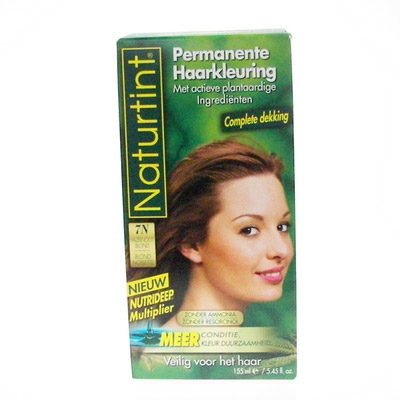 Afbeelding van Naturtint Permanente Kleuring 7N Hazelnoot Blond