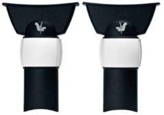 Zwarte Bugaboo Fox 2/Buffalo adapter voor Britax Römer® autostoel