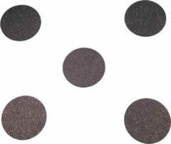 Zwarte Stroops - Agility dots, set van 5 stuks