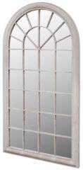 Zwarte VidaXL Spiegel boogvormig voor binnen en buiten 116 x 60 cm