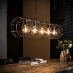 Antraciet-grijze Easy Furn Hanglamp Solveij - 5 Lichts
