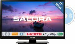 Zwarte Salora 32HDB6505 - Televisie - LED - 32 Inch - HD - Ingebouwde DVD speler - HDMI - USB