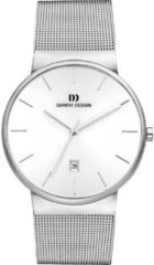 Danish Design IQ62Q971 horloge heren - zilver - edelstaal