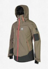 Groene Picture Organic Clothing Picture Track expedition - drak army - wintersport jas - heren - maat XL