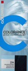 Goldwell - Colorance - pH 6.8 Coloration Set - 2A Bleu Black