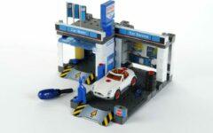 Blauwe Theo Klein Bosch Autogarage met Wasstraat