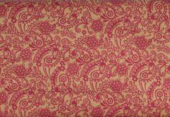 Roze Hoomark Kadopapier Kraft Printed 200x70cm