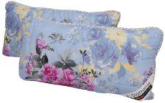 Stoffhanse Kissen Floral Bedruckt, 40x80cm 2er Set