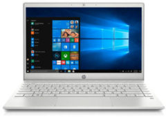 Zilveren HP Pavilion 13-AN1400ND 13.3 inch Full HD laptop