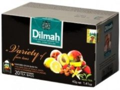 Dilmah Fruit Variety Thee Zakjes 20st
