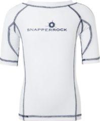 Snapper Rock UV Schutzkleidung Snapper Rock UV werend T-shirt Kinderen korte mouwen - Wit - Maat 140-146