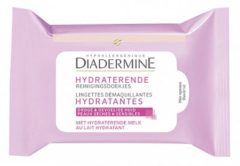 Diadermine Hydraterende Reinigingsdoekjes 25 Stuks