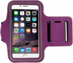 Go Go Gadget Sport Armband - Universeel - Verstelbaar - Hardlooparmband - Spatwaterdicht - Bescherming - Lichtgewicht - 78 x 150 mm (4,7 inch) - Paars