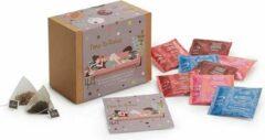 ChaCult Gift Box thee - Time to Relax - Cadeauset thee - 4 verschillende smaken - 28 pyramidezakjes