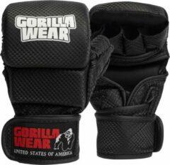 Gorilla Wear Ely MMA Bokshandschoenen MMA Gloves Unisex - Zwart/Wit - S/M
