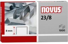 Novus 23/8 042-0040 Nietjes 1000 stuk(s) 1.000 stuks/pak Heftcapaciteit: 50 vel (80 g/m²)