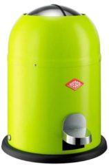Groene Wesco Afvalemmers Single Master Lime Green, 9 ltr