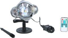 Grundig projectorlamp - LED - sneeuwvlokken - wit en gekleurd