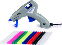 Dremel 930 Lijmpistool - Lijmstick Ø 7 mm - Inclusief 3x 7 mm lijmsticks voor lage temp. en 3x 7 mm lijmsticks voor hoge temp. en 12x 7 mm kleurensticks
