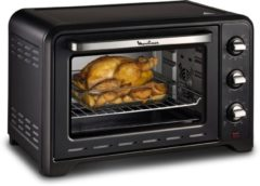 Zwarte Moulinex Optimo 33L OX464810 - Mini oven (vrijstaand)