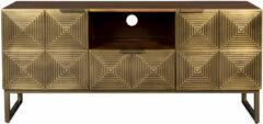 Bruine Dutchbone TV-meubel 'Volan', 135x40x60cm