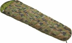 Fox Outdoor - Mummy slaapzak, woodland camouflage, 2-laags vulling