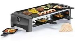 Zwarte Princess Raclette 8 Grill and Teppanyaki Party gourmetstel 162840